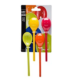 Zak Designs® Set of 4 Fresh Mini Happy Spoons