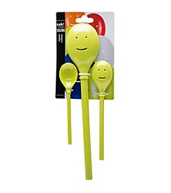 Zak Designs® 3-pc. Kiwi Happy Sppon Set