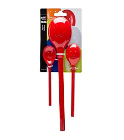 Zak Designs® 3-pc. Red Happy Sppon Set