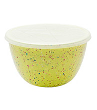 Zak Designs® Confetti Pub Kiwi Mix and Serve Bowl w/lid