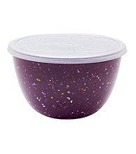 Zak Designs® Confetti Pub Grape Mix and Serve Bowl w/lid