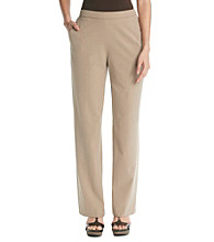 Briggs New York® Stretch Waistband Solid Pant