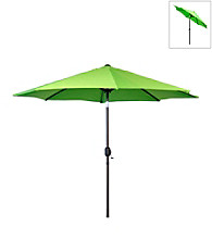 International Concepts 9' Lime Green Market Umbrella with Steel Pole