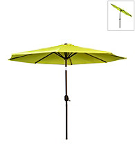International Concepts 9' Yellow Market Umbrella with Steel Pole