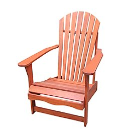 International Concepts Oiled Finish Solid Wood Adirondack Chair