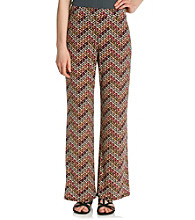 NY Collection Printed Pant