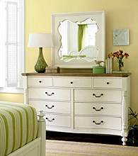 Better Homes & Gardens American Cottage Drawer Dresser & Mirror Collection