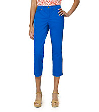 Jones New York Sport® Blue Five Pocket Crop Jean