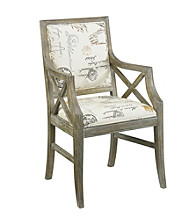 Hammary Hidden Treasures Script Accent Chair
