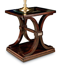 Lane® Churchill Walnut End Table