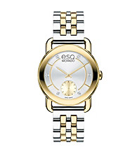 ESQ Movado® Women's ESQ Classica™ Two Tone Watch