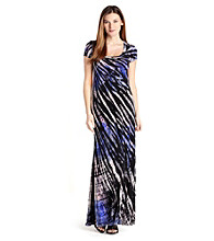 Karen Kane® Tie Dye Maxi Dress