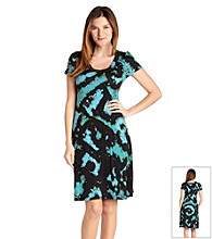 Karen Kane® Tie-Dye A Line Dress