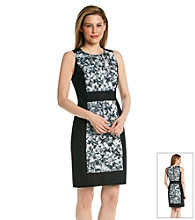 MICHAEL Michael Kors® Wildflower Print Colorblock Dress