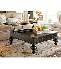 Paula Deen® Put Up Your Feet Tobacco Cocktail Table