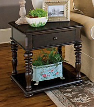Paula Deen® Tobacco Rectangular End Table
