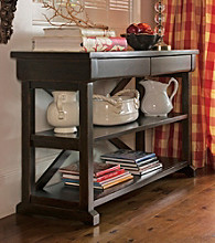 Paula Deen® Tobacco Console Table
