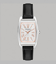 Caravelle® by Bulova Women's Black Strap Watch