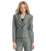 Nine West® Sharkskin Jacket