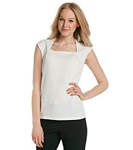 Kasper® Plus Size Square Neck Cami