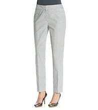 Nine West® Seersucker Skinny Pant