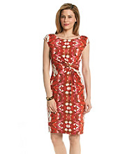 Anne Klein® Oasis Matte Jersey Sheath Dress