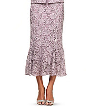 Alex Evenings® Fit And Flare Lace Skirt