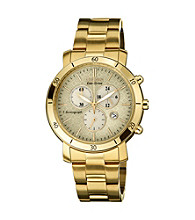 Citizen® Women's Drive Eco-Drive Goldtone Chronograph Watch