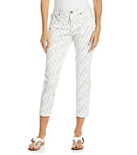 Jones New York Sport® Petites' Printed Cropped Jean