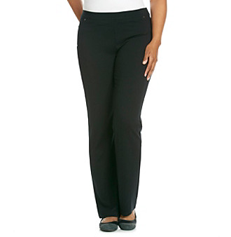 585fed66880 UPC 887345323038 product image for Calvin Klein Performance Plus Size  Bootcut Solid Ponte Pant