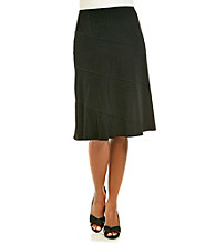 Notations® Petites' Knit Skirt