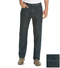 Ruff Hewn Men's Navy Rinse 5-Pocket Classic Straight Fit Jean