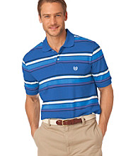 Chaps® Men's Big & Tall Short Sleeve Island Multi-Stripe Polo