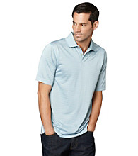 Van Heusen® Men's Short Sleeve Feeder Stripe Traveler Polo
