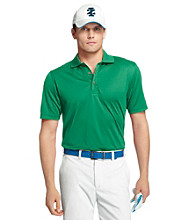 Izod® Men's Short Sleeve Solid Grid Golf Polo
