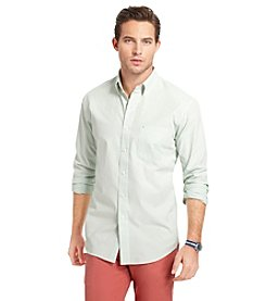 Izod® Men's Long Sleeve Essential Stripe Button Down