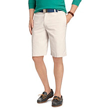 Izod® Men's Oxford Flat Front Shorts