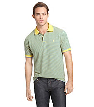 Izod® Men's Short Sleeve Mini Stripe Pique Polo