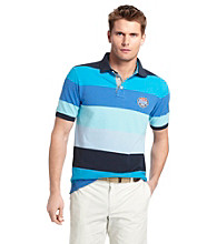 Izod® Men's Short Sleeve Bold Stripe Pique Polo