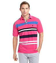 Izod® Men's English Multi Stripe Pique Polo