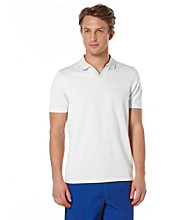 Perry Ellis® Men's Helium Short Sleeve Striped Polo