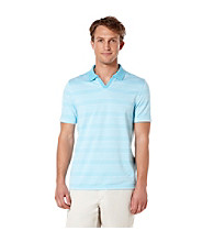 Perry Ellis® Men's Azzuro Short Sleeve Striped Polo