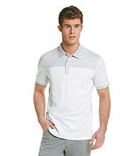 Calvin Klein Men's Short Sleeve 3 Button Polo