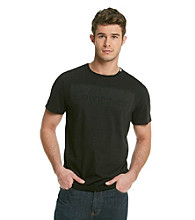 Calvin Klein Men's Black Short Sleeve Graphic Tee