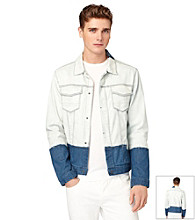 Calvin Klein Jeans® Men's Light Wash Ombre Jean Jacket