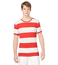 Calvin Klein Jeans® Men's Snapper Short Sleeve Crewneck Wide Stripe Tee