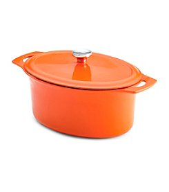Rachael Ray® Orange Cast Iron Covered Casserole