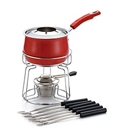 Rachael Ray® 2-qt. Red Stainless Steel Fondue Set