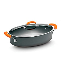 Rachael Ray® Hard Anodized II 5-Quart Covered Oval Saute pan