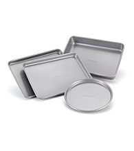 Farberware® 4-pc.Nonstick Toaster Oven Bakeware Set
